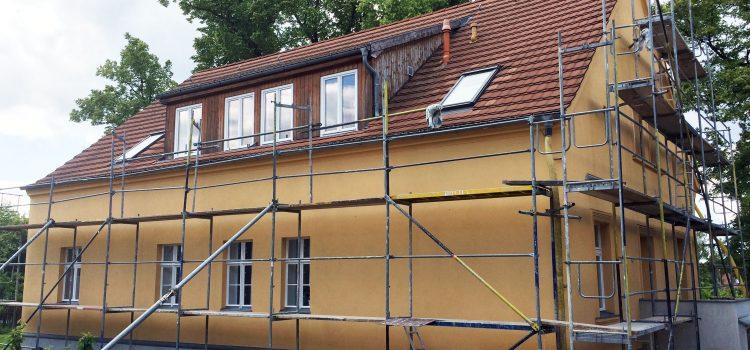 Fassadenanstrich - Keim Fassadenfarbe - Außenarbeiten