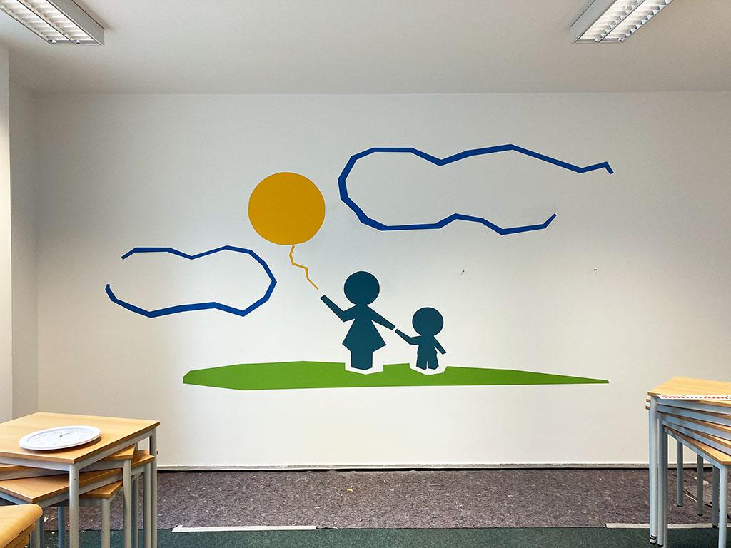 kreative Wandbilder Luftballon
